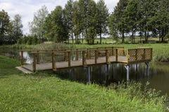 Деревянный док Стоковое Изображение