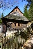 Деревянный дом стоковая фотография