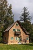Деревянный дом Стоковое Фото