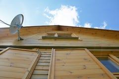 Деревянный дом Стоковые Фотографии RF