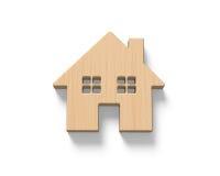 Деревянный дом Стоковое Изображение