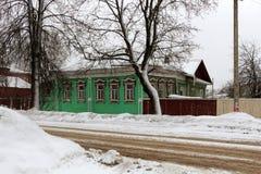 Деревянный дом Стоковое фото RF