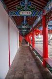 Деревянный дом Lijiang, галерея Юньнань Стоковые Фотографии RF