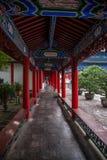 Деревянный дом Lijiang, галерея Юньнань Стоковое Изображение RF