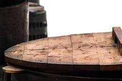 Деревянный лоток крышки Стоковые Изображения