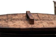Деревянный лоток крышки Стоковая Фотография