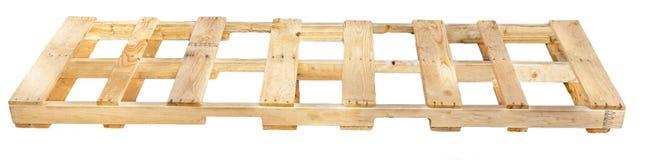 Деревянный паллет Стоковая Фотография
