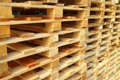 Деревянный паллет Стоковая Фотография RF