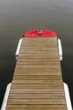 Деревянный понтон стоковая фотография rf