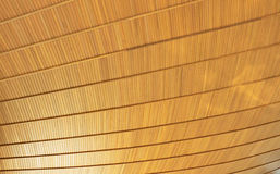 Деревянный потолок Стоковые Изображения