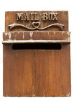 Деревянный почтовый ящик Стоковое фото RF