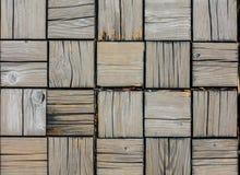 Деревянный пол блока для текстуры Стоковые Изображения