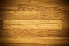 Деревянный пол, который нужно использовать как предпосылка или текстура Стоковое Изображение RF
