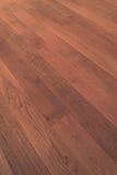 Деревянный пол партера, деревянный макрос настила Стоковая Фотография RF