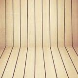 Деревянный пол стены и древесины Стоковые Фотографии RF