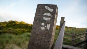 Деревянный поляк с 700 3 Стоковая Фотография RF