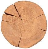 Деревянный раздел cros Стоковое Изображение RF