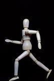 Деревянный робот Стоковое Фото