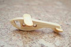 Деревянный самолет игрушки Стоковые Фотографии RF