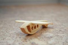 Деревянный самолет игрушки Стоковое Изображение RF