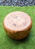 Деревянный самомоднейший стул Стоковое Фото
