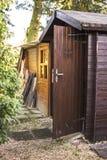 Деревянный сарай сада Стоковое Фото