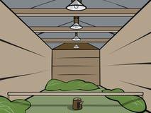 Деревянный сарай Бесплатная Иллюстрация