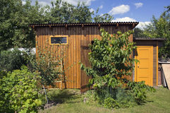 Деревянный сарай Стоковые Фотографии RF