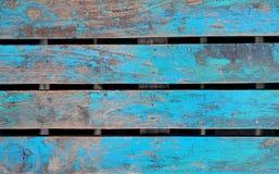 Деревянный свет - синь Стоковая Фотография RF