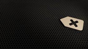 деревянный символ 3d значка возврата представить бесплатная иллюстрация