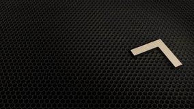 деревянный символ 3d поднимающего вверх значка стрелок представить бесплатная иллюстрация