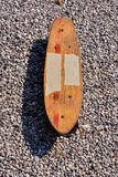 Деревянный скейтборд доски конька 70's Стоковые Фото
