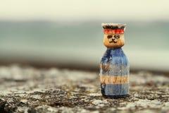 Деревянный солдат Стоковое Изображение RF