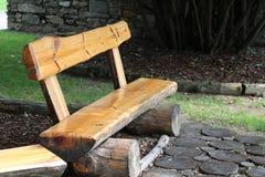 Деревянный стенд внешний Стоковые Изображения