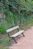 Деревянный стенд в парке Стоковая Фотография RF