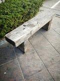 Деревянный стенд в парке Стоковое Изображение