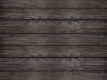 Деревянный стол темного коричневого цвета естественный от взгляд сверху Стоковые Фотографии RF