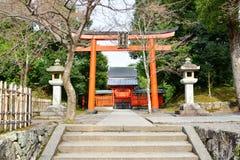 Деревянный строб в виске наследия Tenryuji Стоковые Фото