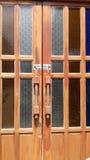 Деревянный строб Стоковая Фотография RF