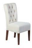 Деревянный стул с изолированный Стоковые Изображения