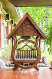 Деревянный стул Стоковые Фотографии RF