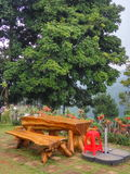 Деревянный стул Стоковые Фото