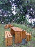 Деревянный стул Стоковое фото RF