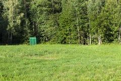 Деревянный туалет, лес Стоковое Фото