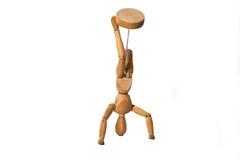 Деревянный думмичный танец Стоковое Фото