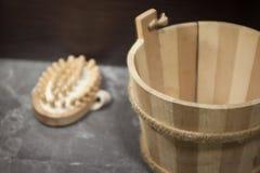 Деревянный ушат Стоковая Фотография RF