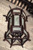 Деревянный фонарик династий Ming и Qing в академии клана Chen Стоковая Фотография RF