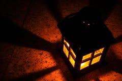 Деревянный фонарик Стоковые Изображения RF