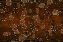 Деревянный фон казино стоковое фото rf