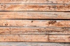 Деревянный цвет коричневого цвета стены планки Стоковые Изображения RF